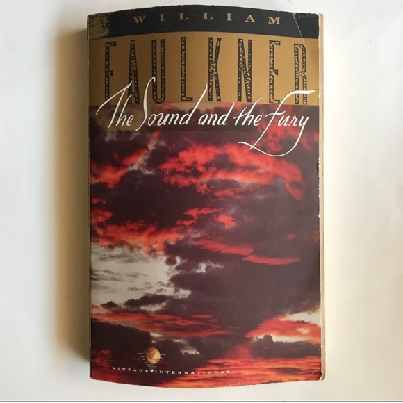 William Faulkner The Sound And The Fury BOOK